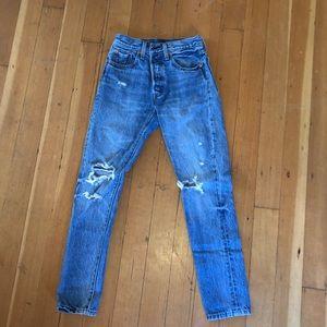 Real denim Levi jeans